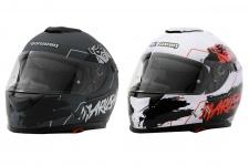 Marushin 889 Comfort Warrior Motorrad Helm Integralhelm sportliche Tourenfahre