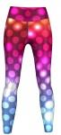 Sparkles Leggings sehr dehnbar für Sport, Gymnastik, Training & Fashion Mehrfarbig