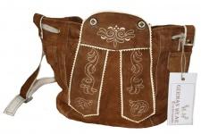 Damen Trachtentasche Dirndl Taschen Trachten ledertasche Kastanie