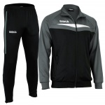 OMKA Trainingsanzug Sportanzug Jogginganzug Freizeitanzug Grau