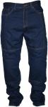 German Wear, Denim Kevlar Motorradjeans Motorradhose Twill Jeans, Protektoren Blau