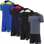 OMKA Herren Team Trikotset 2-teilig fußball set Fitness Team (Jersey + Shorts)