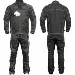 German Wear, 2-teiler Motorradkombi Cordura Textilien Motorradjacke & Motorradhose Schwarz