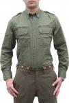 Jagdhemd Jäger hemd für jagen in Trachtengrün/jagdgrün
