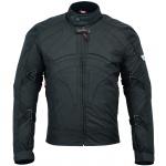 BULLDT Motorradjacke Cordura Textilien kurze Jacke Schwarz