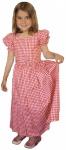 Mädchen Kinder Dirndl Mädchendirndl Kleid Rot/weiß kariert