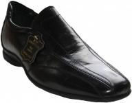 German Wear, Business-schuhe Halbschuhe aus echtem Rindsleder Schuhe schwarz