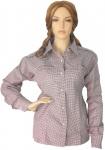 Trachtenbluse Bluse für damen Trachten Lederhose Trachtenmode beere karo