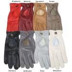 GermanWear Driving Autofahrer-Handschuhe Lederhandschuhe