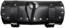Motorrad Werkzeugtasche Satteltasche Motorradtasche Toolbox echtleder schwarz