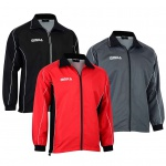 OMKA Optima Herren Trainingsjacke Sportjacke Joggingjacke Präsentationsjacke