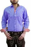 Trachtenhemd für trachten lederhosen wiesn freizeit Hemd kariert