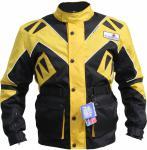 Textilien Jacke Motorradjacke Kombigeeignet Gelb Gr.S-4XL