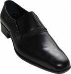 German Wear, Business-schuhe Halbschuhe Lederschuhe Glattleder/Rindsleder schwarz