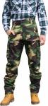 Lange Jagdhose Jägerhose farbe Militaer aus Textilien mit Stickerei