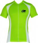 Trikot Radtrikot Fahrradtrikot Fahrrad Radler-Trikot Shirt Jersey Neongrün