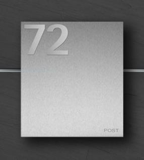 Briefkasten Edelstahl Hausnummer - Kaufen bei z-e-d Susan Richter