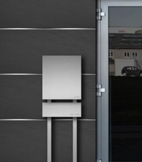 briefkasten edelstahl zeitungsbox freistehend kaufen bei. Black Bedroom Furniture Sets. Home Design Ideas