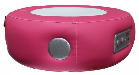 Multimediahocker Sitz Loop Pro Soundhocker Musikhocker Multimedia pink