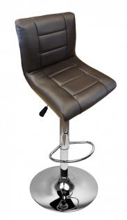 EDEL Designer Barhocker Bar Tresen Hocker Stuhl M28 braun