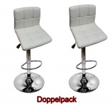 2 x EDEL Designer Barhocker Bar Tresen Hocker Stuhl M32 creme
