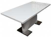 Designer Esstisch, Küchentisch, Tisch, Tische, weiss, ausziehbar, 160-200cm