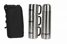 Thermoskannen Reise Set 5 in 1, Thermosflasche, Isolierflasche, Isolierkanne