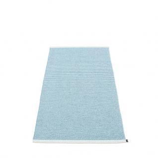 pappelina Mono Outdoor-Teppich - nebelblau / eisblau