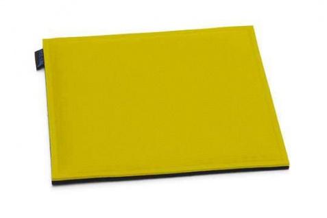 Hey-Sign quadratische Sitzauflage 2 x 3mm mit Schaumstofffüllung - Vorschau 2