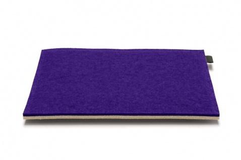 Hey-Sign quadratische Sitzauflage 2 x 3mm mit Schaumstofffüllung (35x35cm) - ...