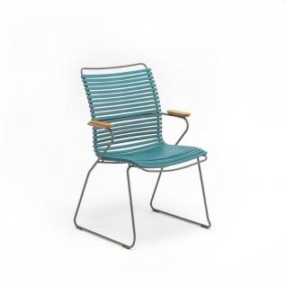Houe Click Stuhl mit Armlehne - hohe Rückenlehne - Vorschau 3