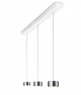 Oligo Grace LED Pendelleuchte mit unsichtbarer Höhenverstellung 3-flammig