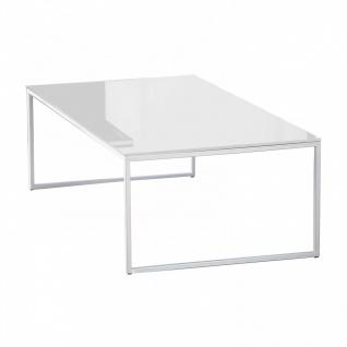 Jan Kurtz Classico Couchtisch - Glasplatte weiß - Ausstellungsstück