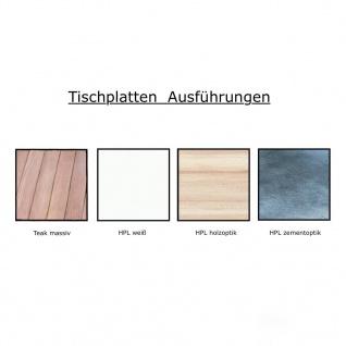 Jan Kurtz Quadrat Tisch 120 x 120cm