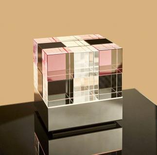 Tecnolumen Cubelight MSCL2 Tischleuchte - 10 klar, 4 rosa und 4 schwarz - Aus...
