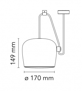 Flos Aim Small Pendelleuchte 3-flammig - Vorschau 3