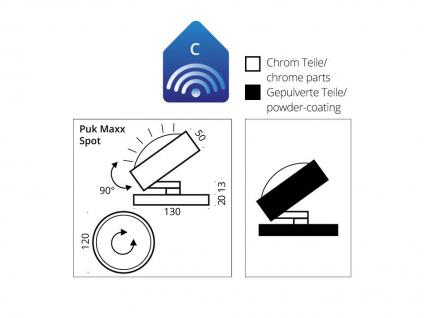Top Light Puk Maxx Spot Tischleuchte / Bodenleuchte - Vorschau 3
