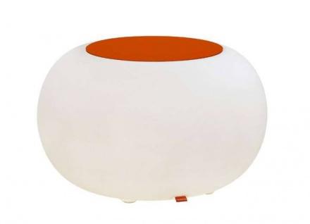 Moree Bubble Outdoor LED Akku Beistelltisch / Hocker