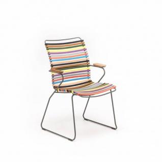 Houe Click Stuhl mit Armlehne - hohe Rückenlehne - Vorschau 4