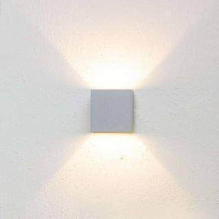 Lumini Brick 54 Outdoor LED Wandleuchte-Brick 54/2)-titansilber - Ausstellung...