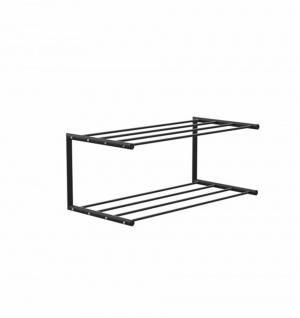 Frost Nova Schuhregal - 60cm Breite - schwarz/schwarz - Ausstellungsstück