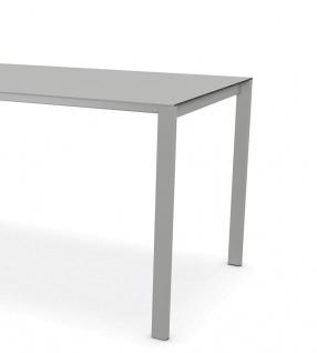 Kristalia Thin-K Aluminium Tisch ausziehbar