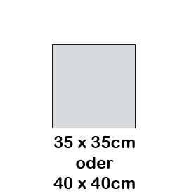 Hey-Sign quadratische Sitzauflage 2 x 3mm mit Schaumstofffüllung - Vorschau 4