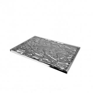 Kartell Dune Tablett - B: 46cm / chrom metallic - Lagerabverkauf