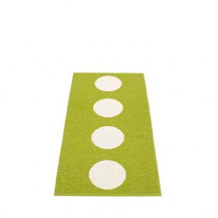 pappelina Vera Outdoor-Teppich - apfelgrün / vanille