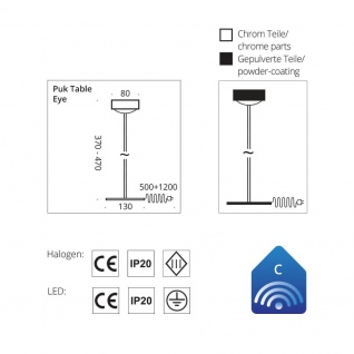 Top Light Puk Eye Table Tischleuchte - Vorschau 2