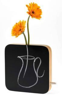 Klein & More Moma Schiefertafel-Vase Blumenvase