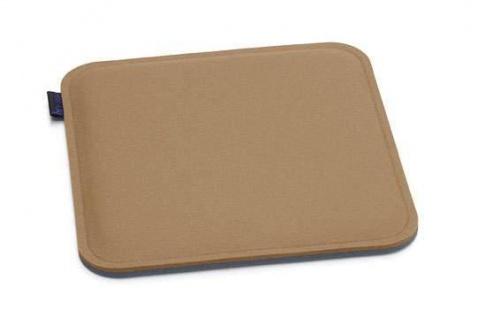 Hey-Sign quadratische Sitzauflage gerundete Ecken 2 x 3mm mit Schaumstofffüllung - Vorschau 1