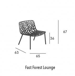 Fast Forest Lounge Sessel - Vorschau 3