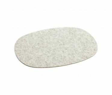 Hey-Sign Tischset oval - 4 Stk.- marmor - Lagerabverkauf
